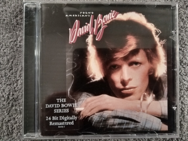 David Bowie: Young Americans, rock, 24 bit Digitally…