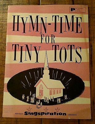 Vintage 1958 Hymn Time for Tiny Tots Music