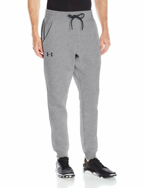 Under Armour Mens Rival Fleece Patterned Joggers Graphitestealth Impressive Patterned Joggers