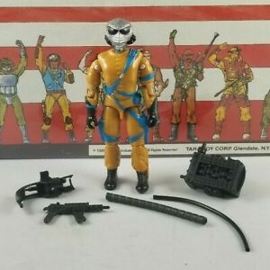 Original-1989-GI-JOE-FRAG-VIPER-V1-UNBROKEN-figure-not-Complete-Cobra