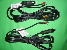 LOT OF 2 400watt Power Inverter Cable 12 volt DC Cigarette lighter plug