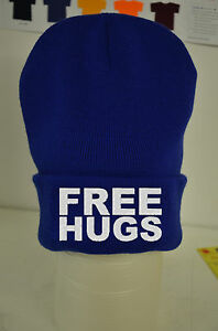 c06ddf77f5c Free Hugs Beanie Lots Of Colours - Cotton Custom Hat Gift ymcmb ...