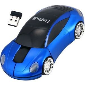 Daffodil-WMS217B-Car-Shaped-Wireless-Optical-Mouse-for-Windows-and-Mac-Blue