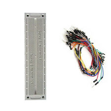 Breadboard 760 Point Solderless Amp65pcs Jumper Cable Wire Kit For Arduinopicarm