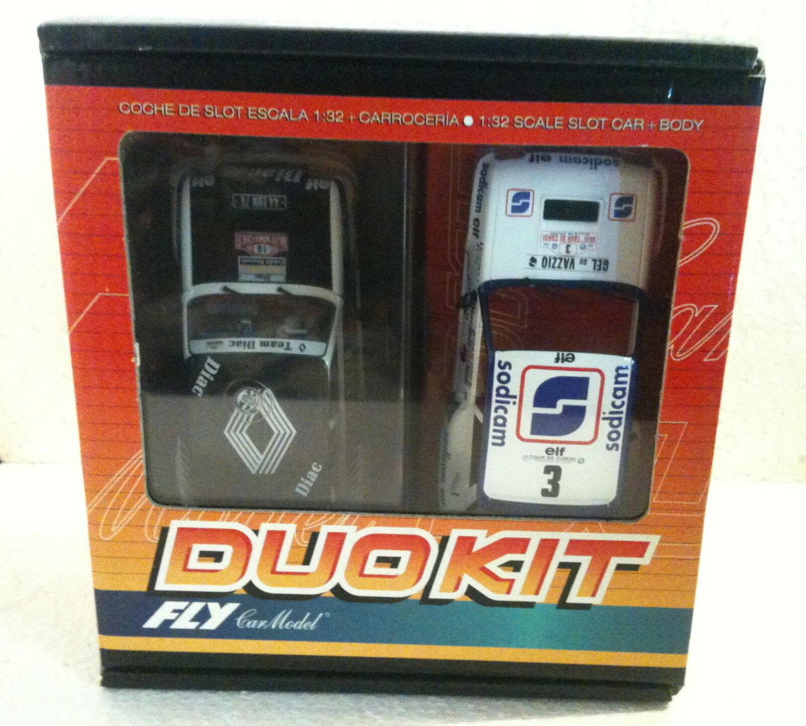 QQ 88296 Fly Duo Kit R 5 Turbo Diac R Montecarlo  16 Körper Sodicam Tour De Corse