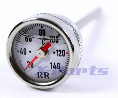 RR Öltemperatur Anzeige Ölthermometer Direktanzeiger Suzuki DR750 DR800 DR800S