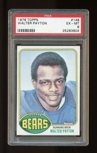 1976-Topps-Set-Break-148-Walter-Payton-RC-PSA-6-EX-MT
