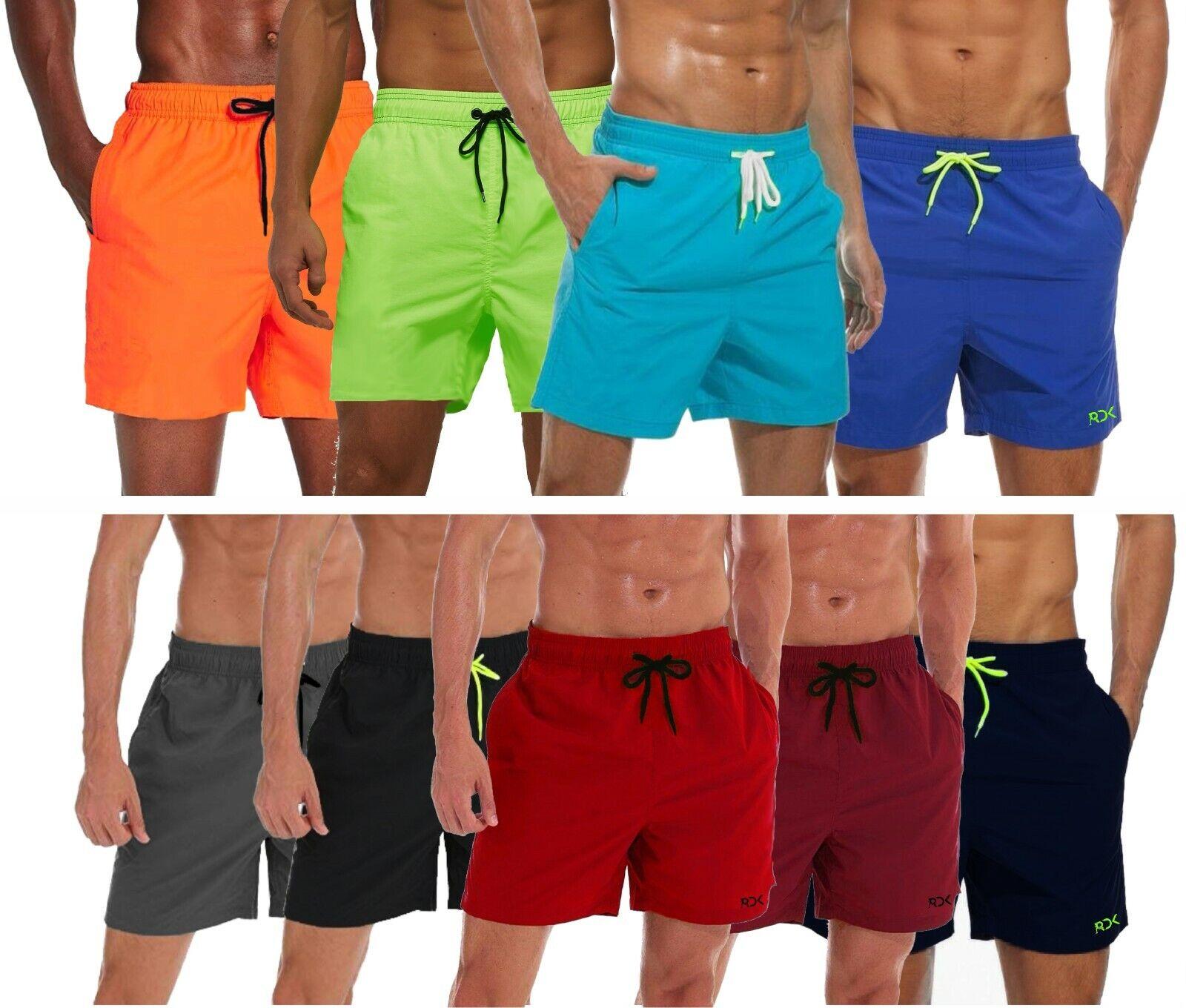 Para Hombre Shorts De Baño Natacion Running Gimnasio Board Shorts Troncos Traje de Baño Playa Verano