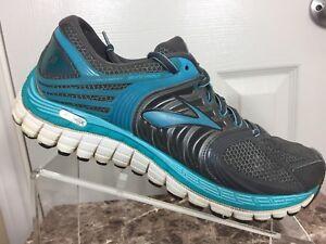 af572c4e9b4 Brooks Glycerin 11 Womens Size 9.5 Medium Gray Teal Athletic Running ...