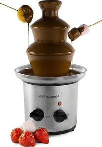 Andrew-James-Chocolate-Fountain-3-Tier-Independent-Heat-amp-Flow-Control