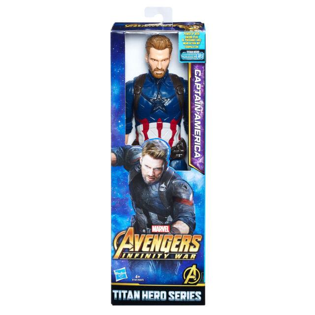 MARVEL Avengers Infinity GUERRA Héroe De Titan Capitán América con Power Fx