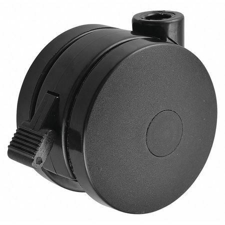 Zoro Select 32L387 Open Twin Wheel Swivel Cstr,Nylon,125 Lb