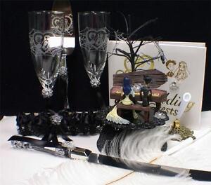 Corpse Bride Cake Topper Set