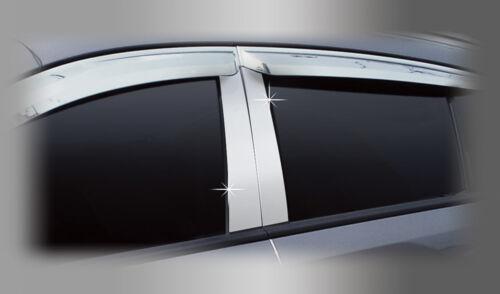 Zubehör für Hyundai Terracan 2001-2006 Chrom PVC Blenden B-Säulen Tuning