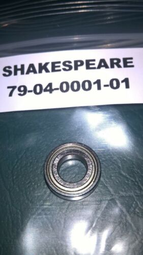 SHAKESPEARE REEL ROTOR HEAD BEARING. PART REF# 7904000101. APPLICATIONS BELOW