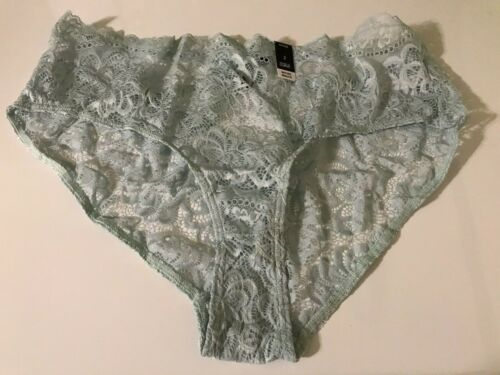 Details about  /Torrid Curve Mint Green Lace Cage Back Hipster Panties Plus Size 2 NWT!