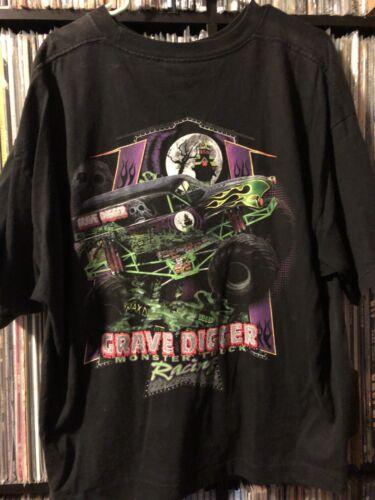 Rare Vintage Gravedigger Monster Truck Shirt Monst