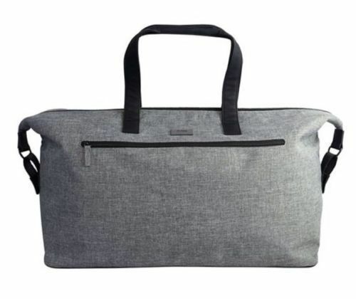 85402a91bb Hugo Boss Mens Grey Weekend Holdall Duffel Sports School Gym Travel Bag for  sale online
