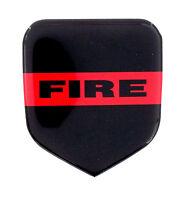 Thin Red Line Fire Dept Emblem Will Fit Dodge Truck Grille 1994-02 Gas & Cummins