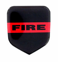 Thin Red Line Fire Dept Emblem Will Fit Dodge Truck Grille 1994-02 Gas & Cummins