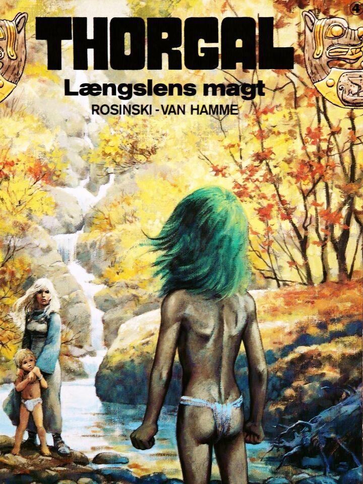 Thorgal, Tegneserie