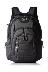 Ogio Renegade RSS Backpack Bag Black Pindot Padded Integrated Foam Panels New