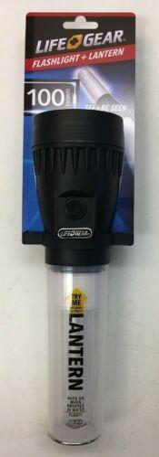Be Seen 100 Lumen 5 Mode Lantern Red Glow Flasher NWT Life Gear Flashlight See