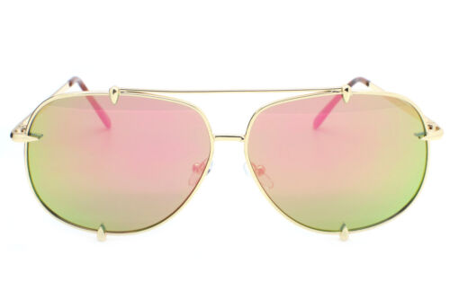 Designer Inspired Oversized Aviator Sunglasses Metal Frame  Women Fashion Talon