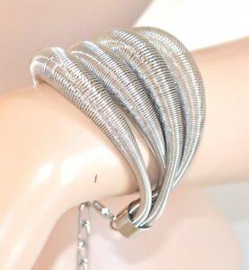 PULSERA-mujer-plata-brazalete-elegante-sexy-ceremonia-fiesta-armband-510
