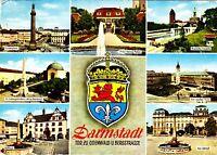 Darmstadt ,Ansichtskarte, 1974 gelaufen