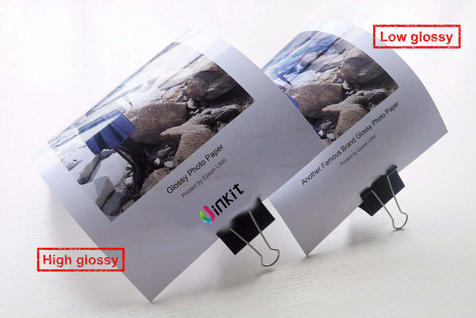 Uinkit  A3 A4 120 Sheets 180-260 Gsm High Glossy Photo Paper Inkjet Paper