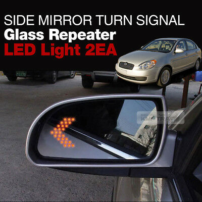 Side Mirror Turn Signal Glass Repeater LED Module for HYUNDAI 2016-2017 Ioniq