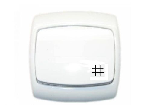 Intermediate Light Switch 1-Gang 10A IP-20 Hallway Stairs Bingo
