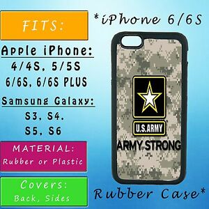 UNITED-STATES-ARMY-CAMO-iPhone-Samsung-Galaxy-Phone-Case-SE-S7-Plastic-Rubber