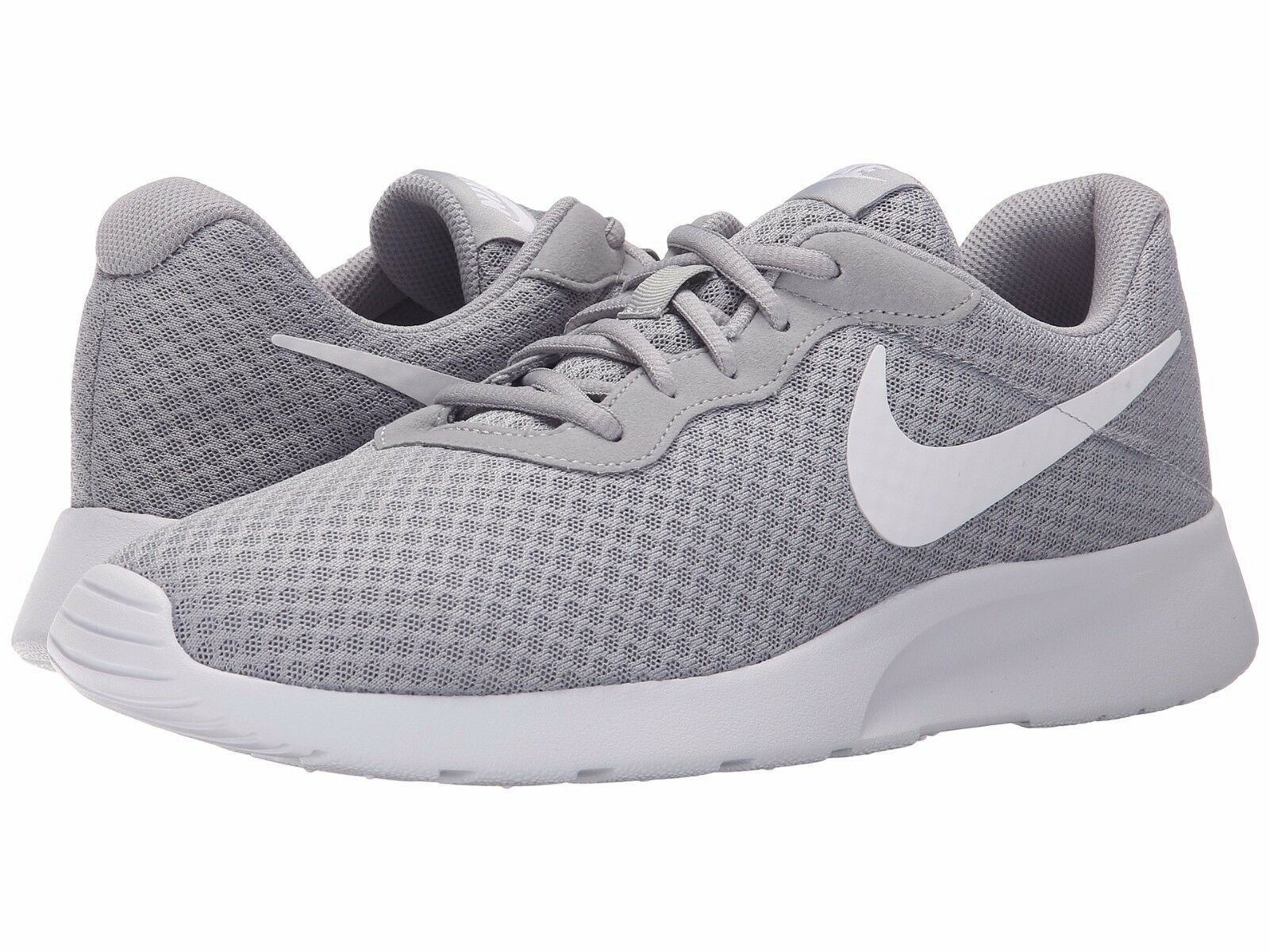 buy popular 6e57a 9099e ... buy nib mens nike sneakers tanjun running athletic shoes sneakers nike  kaishi rosche gray white 33d76a