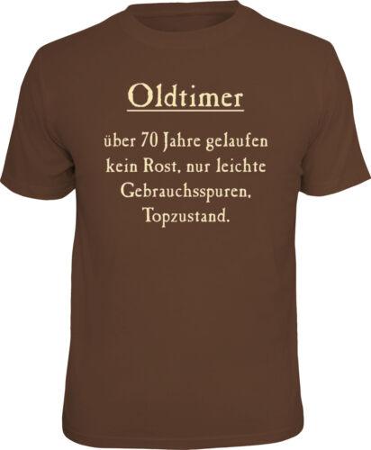 lustiges T-Shirt Fun Shirt zum 70 Geburtstag  70sten Happy Birthday 70 Jahre