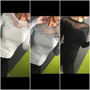 Samanta/'s Kiosk NEW Fashion Women/'s Ladies Girls jumper casual
