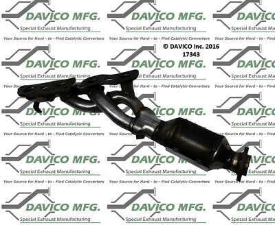 Catalytic Converter-Exact-Fit Right Davico Exc CA fits 04-05 Ford F-150 4.6L-V8