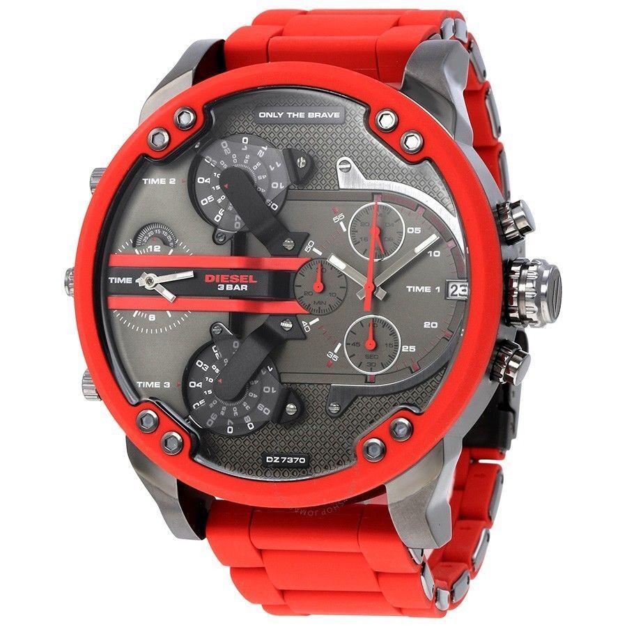 8eac1e5cb725 Diesel DZ7370 Mr.Daddy 2.0 Men s Watch - Red for sale online