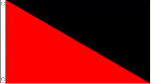 Anarchy Anarcho-Communism Anarcho-Syndicalism 3/'x2/' Flag