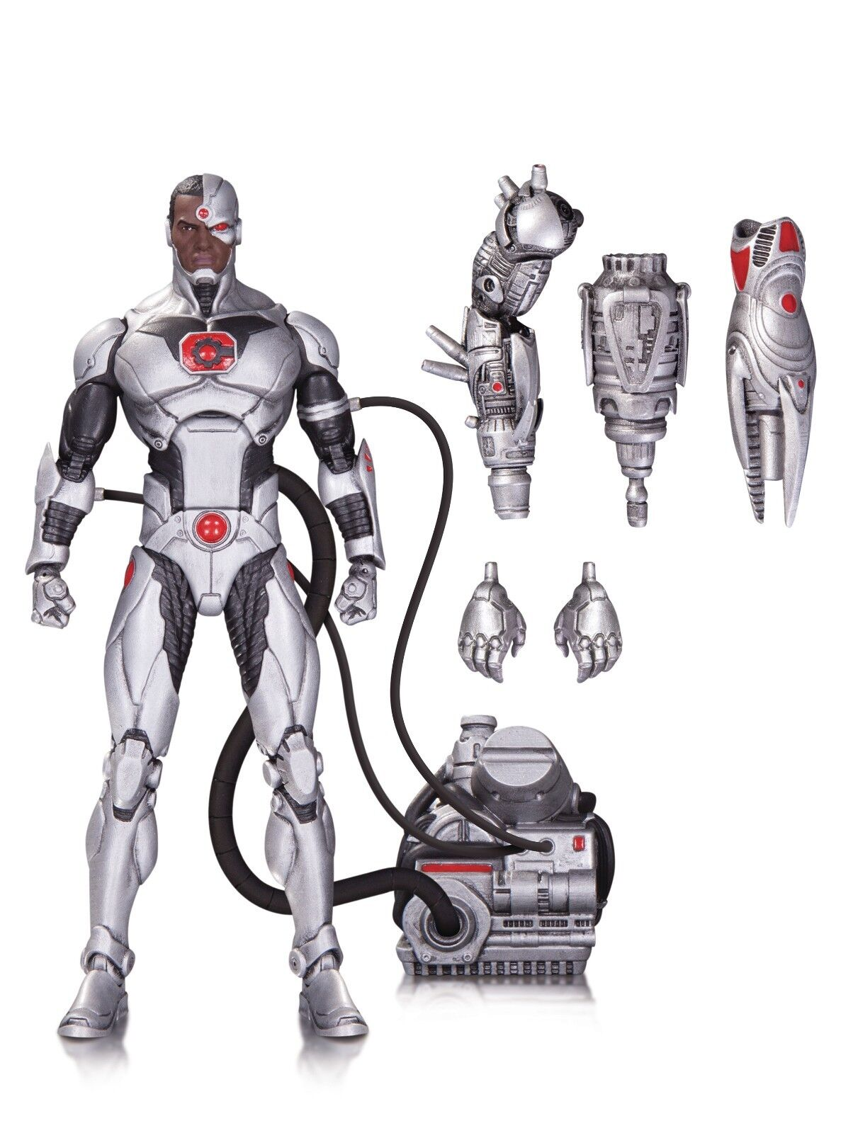Dc - ikonen - deluxe - action - figur - ewig böse - uk - verkäufer