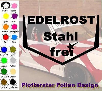 Edelrost Stahl Frei JDM Sticker Aufkleber OEM Power fun like Shocker Winter