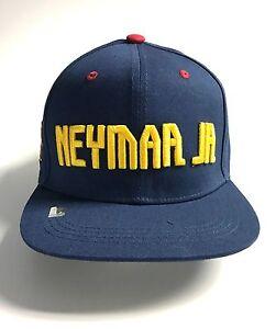 93565a4a0a5 Neymar Jr Snapback Fc Barcelona Soccer Youth Kids Adjustable Cap Hat ...