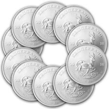 10 x 1 oz Silber Krügerrand 2018 - 1 Rand Südafrika - Stempelglanz