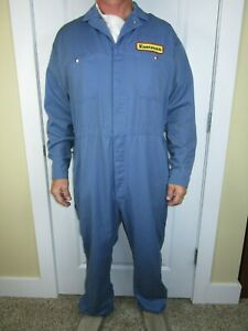 in blue or red USED OVERALLS//BOILERSUITS  FROM S-XXL
