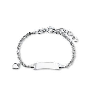 amor-Armband-fuer-Maedchen-12-2-cm-laengenverstellbar-gravierbar-Herz-925