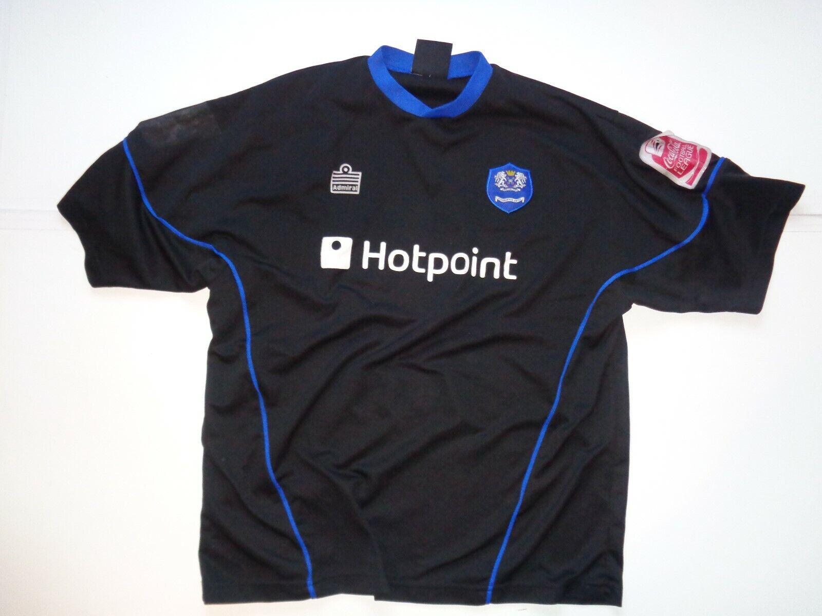 Peterborough United 200405 Andy Clarke away football shirtXL da Uomo