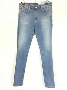 AG-Adriano-Goldschmied-Womens-Sz-29-R-Jeans-Middi-Ankle-Mid-Rise-Legging-Skinny