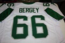 PHILADELPHIA EAGLES #66 BILL BERGEY CUSTOM AWAY JERSEY SIZE XXL SB XV