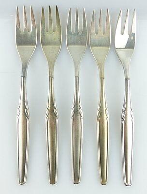 5 Alte Kuchengabeln Von Wmf Model 3500 In 90er Silberauflage E669 Eine GroßE Auswahl An Modellen